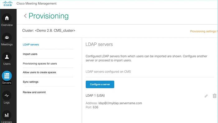 LDAP Integration on CMS 3